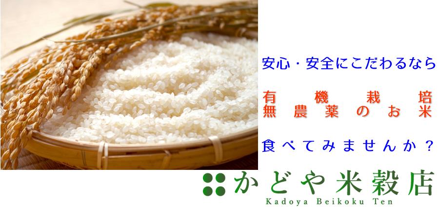 安心・安全のお米を食べたいなら